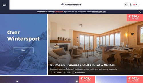 wintersport.com - Web Applicatie