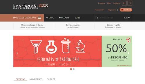 Plataforma E-commerce Labotienda - E-commerce