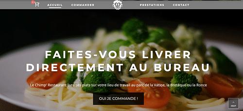 Site de commande ecommerce Restaurant - E-commerce