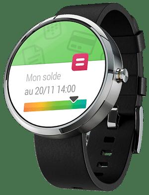 Belfius Direct Wear - Smartwatch application