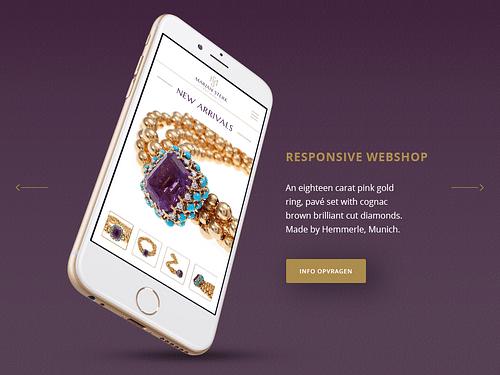 Antiquair Juwelier Marjan Sterk Amsterdam - Branding & Positionering