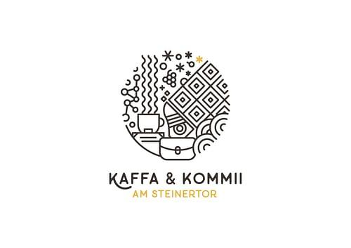 Kaffa & Kommii Branding - Grafikdesign