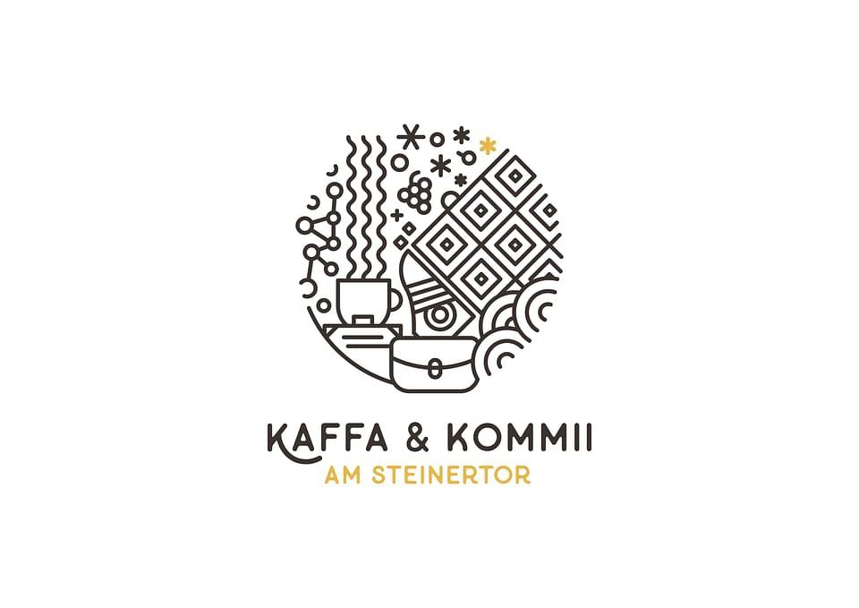 Kaffa & Kommii Branding