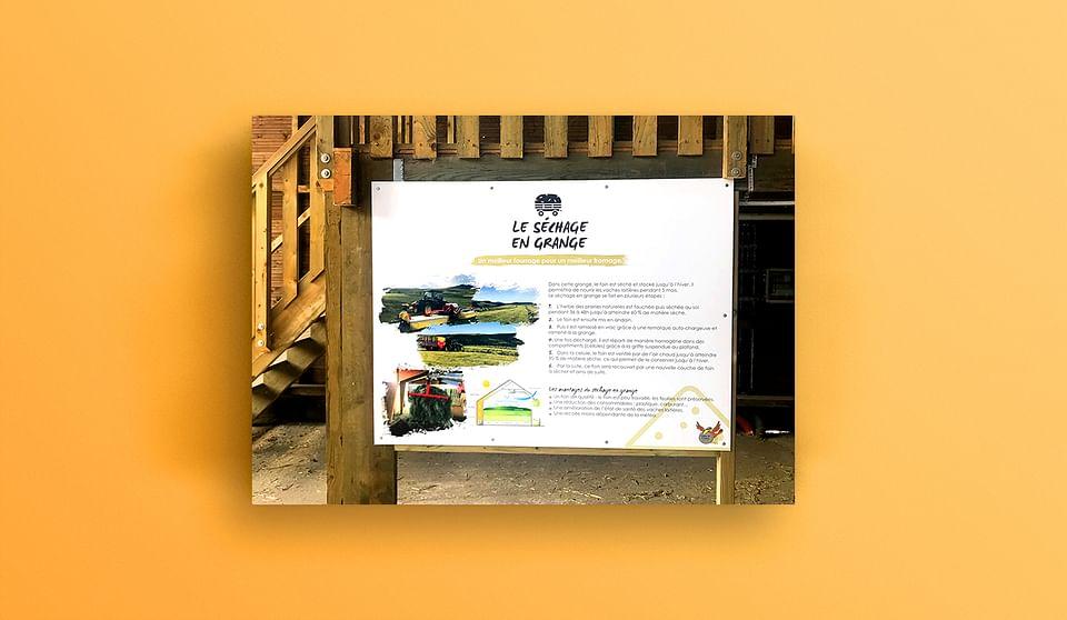 Panneaux d'information et packaging