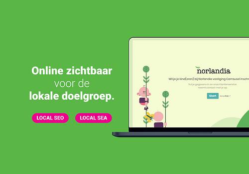 Norlandia - Online zichtbaarheid - Online Advertising