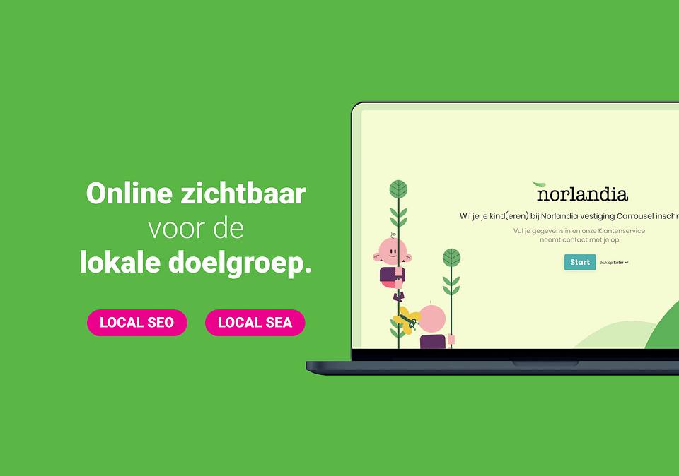 Norlandia - Online zichtbaarheid