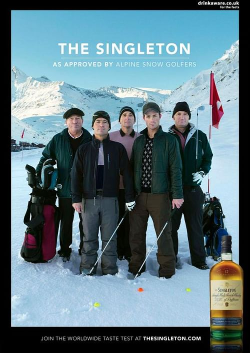 Alpine Snow Golfers - Advertising