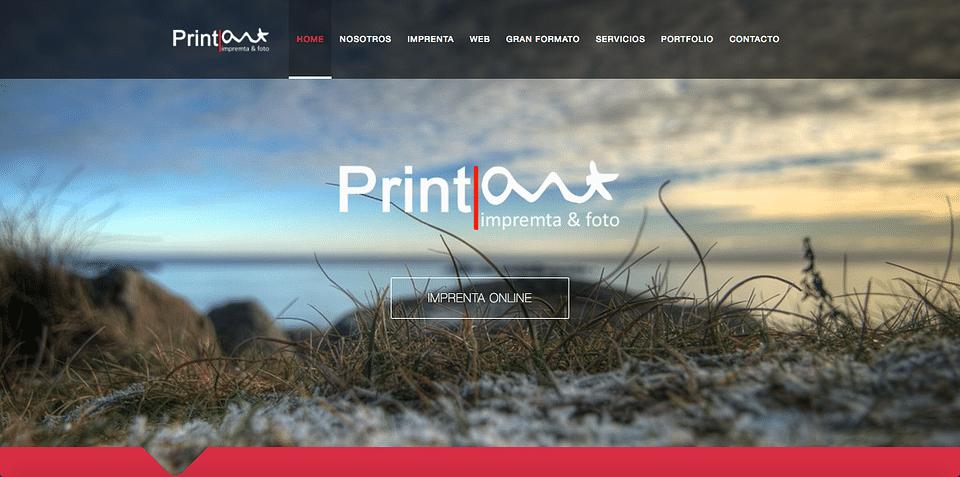 Print-art Company website