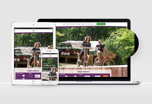Website Camping Torentjeshoek - Website Creatie
