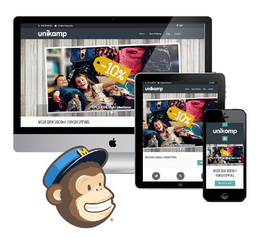 Website Unikamp - Website Creatie