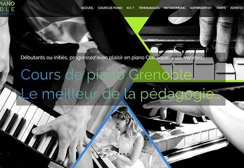 Cours de piano Grenoble - E-commerce