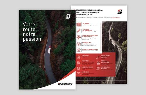 Supports de communication I Bridgestone - E-commerce