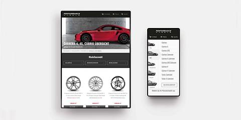 CW Performance – UX/UI Design & E-Commerce