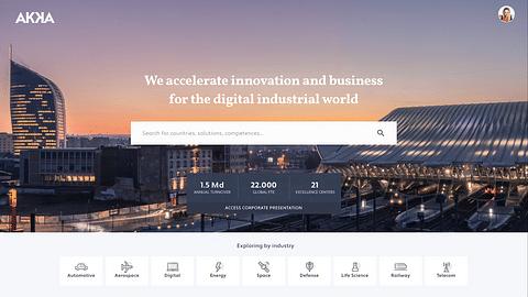 AKKA technologies global sales platform