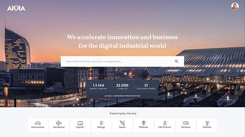AKKA technologies global sales platform - Web Applicatie