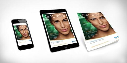 'Dialoog' magazine voor opticiens - Content Strategy