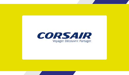 Social media content Compagnie aérienne France - Publicité