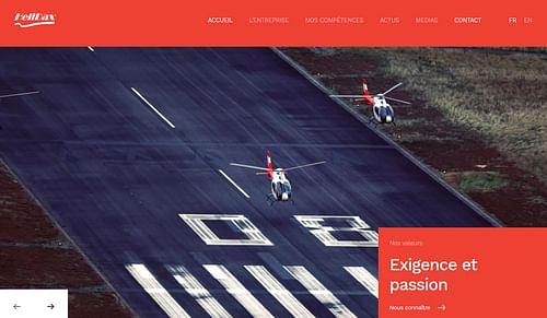Web / Rédaction de contenu - Helidax - Création de site internet