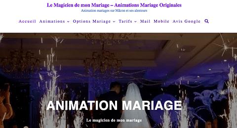 Référencement site de mariage
