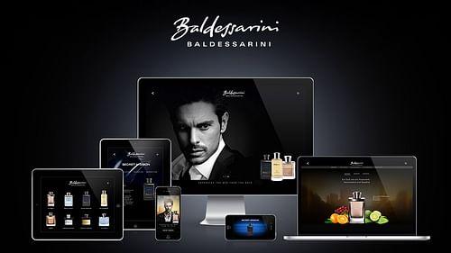 Baldessarini Fragrances – Website - Webanwendung