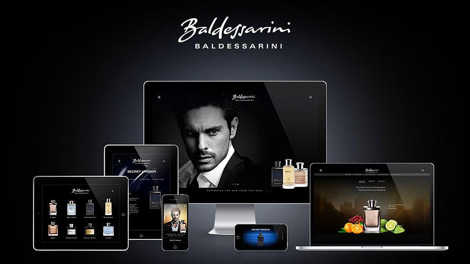 Baldessarini Fragrances – Website