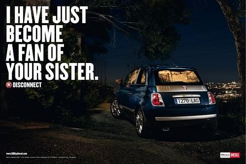 FAN OF YOUR SISTER - Advertising