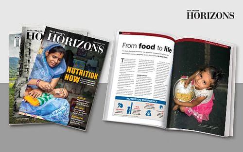 Tata Trusts Horizons-Print & Digital Magazine - Web Application
