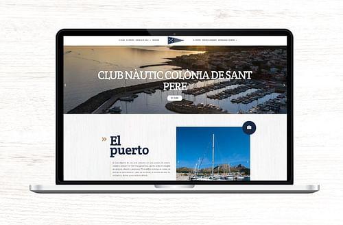 Club Náutico Colónia de Sant Pere - Creación de Sitios Web