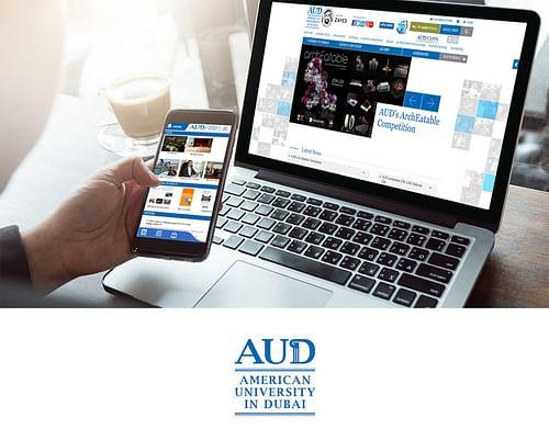 AUD Website & Mobile Application Development - Mobile App