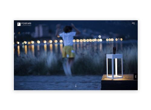Fosfari Lighting - Website Creatie