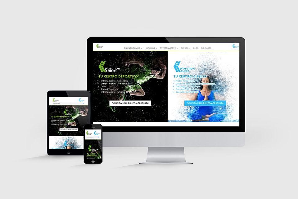 Diseño Web Evolution Center