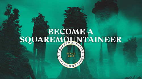 Identity and packing Squaremouintains - Branding & Positionering