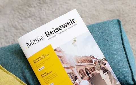 .Meine Reisewelt. | Branding und Editorial Design
