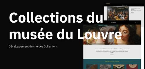 Collections du musée du Louvre - Application web