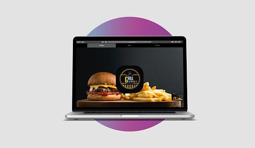 Création de site internet pour Grill Gourmet - Création de site internet
