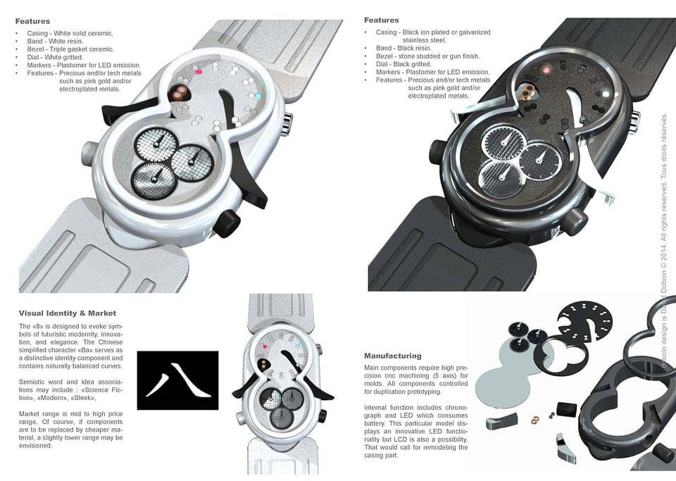 Design Industriel / Design Produit / Horlogerie