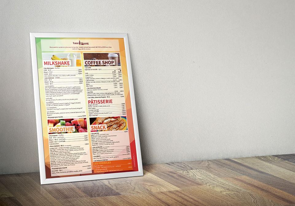 Refonte de l'univers graphique d'un restaurant