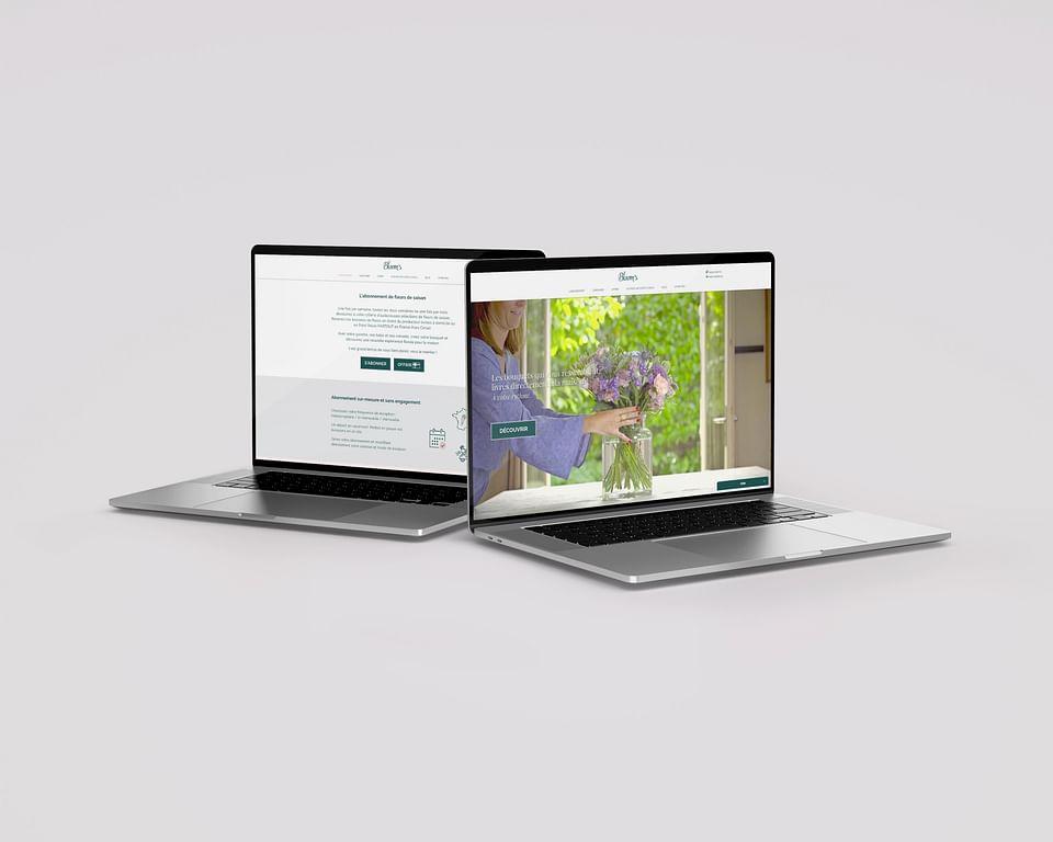 Site e-commerce par abonnement : Bloom's