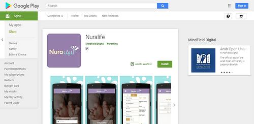 Nuralife - Mobile App
