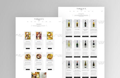 Site e-commerce I Tableaux Paris - E-commerce