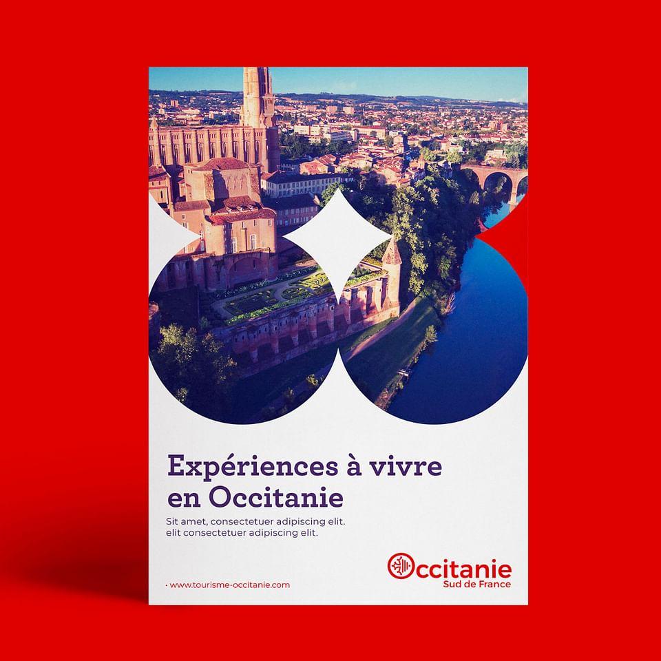 Identité visuelle Occitanie Sud de France