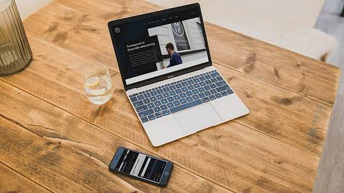 Recruitment website voor financiële experts - Website Creatie