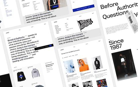eCommerce Website for BOA
