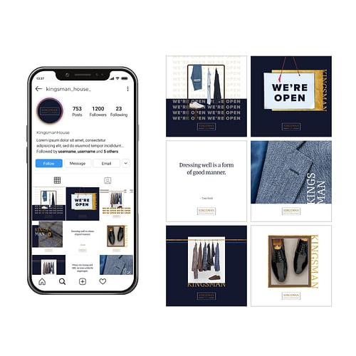 Kingsman Social Media Kampagne - Social Media