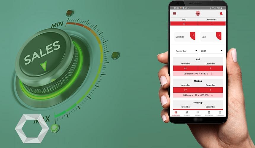 Sales CRM mobile app
