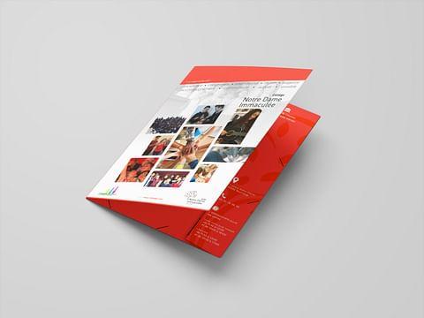 Création de documents print - Sacré-Cœur