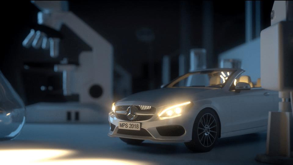 Mercedes-Benz futureLAB 3d animierter Werbefilm
