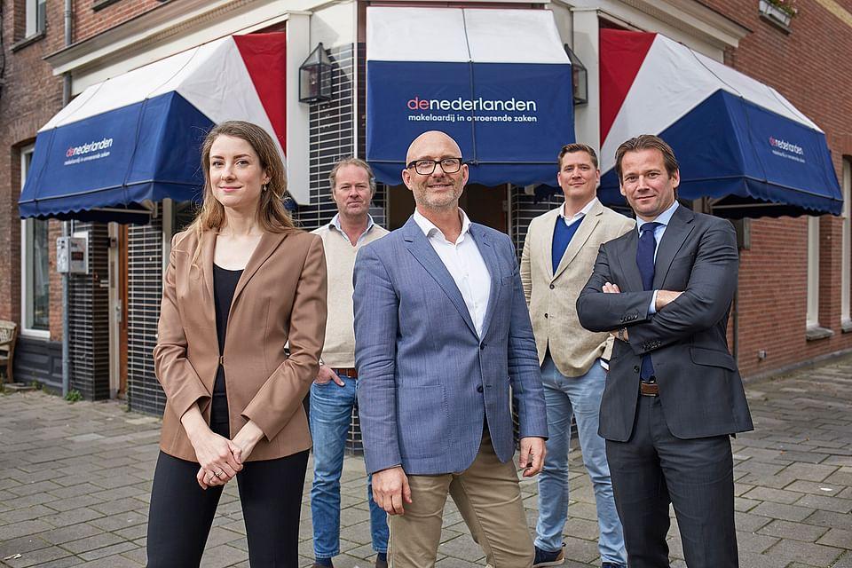 Makelaardij De Nederlanden - repositioning