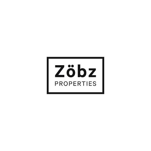 Logotipo para inmobiliaria Zobz - Diseño Gráfico