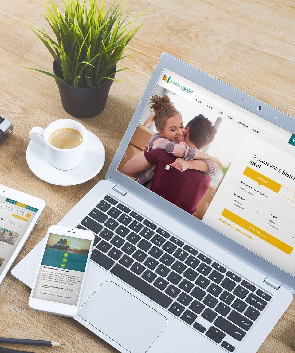 Site internet d'annonces immobilières